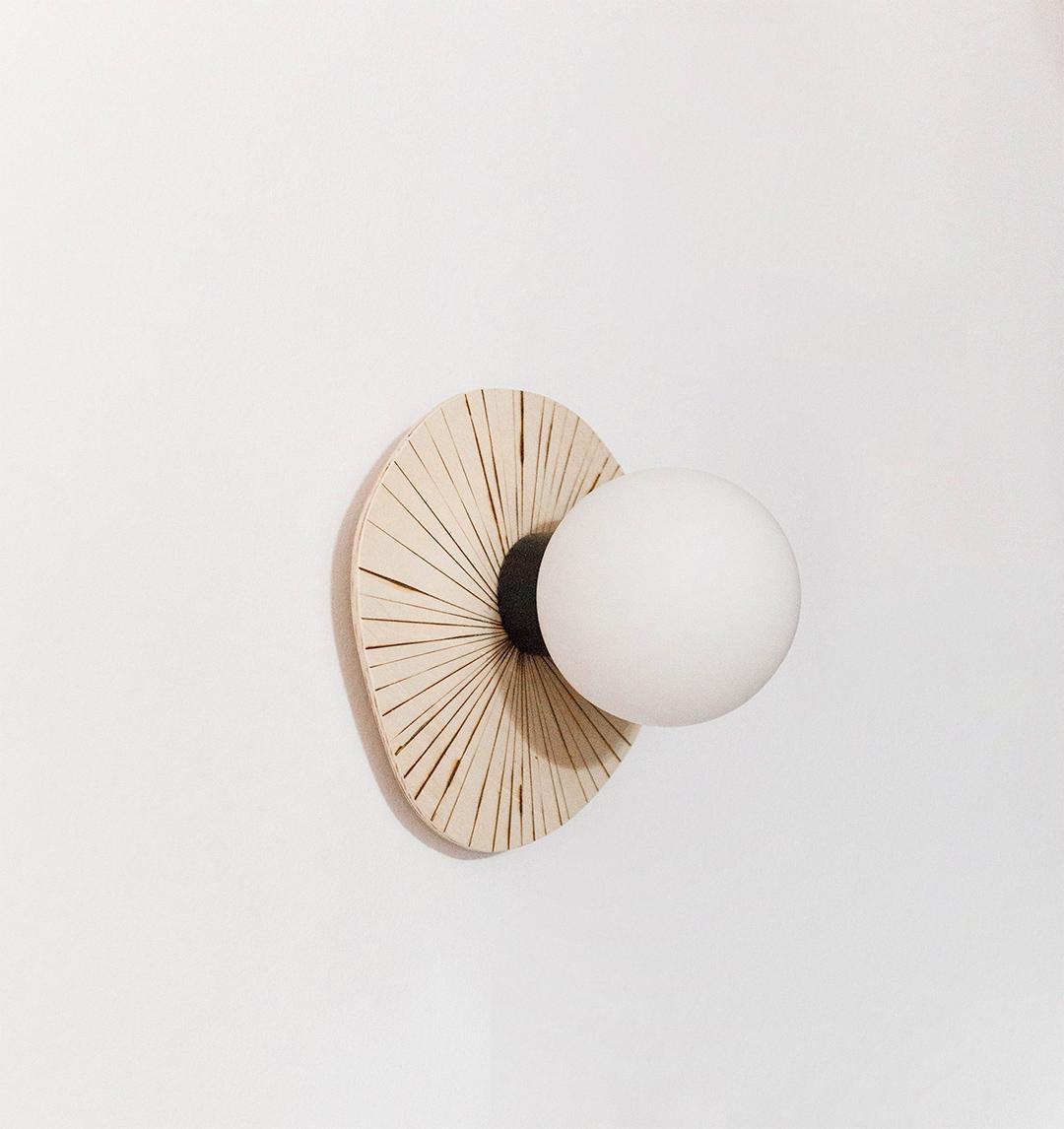 DIY Aplique de madera · DIY Wood wall lamp· Fábrica de Imaginación · Tutorial in Spanish
